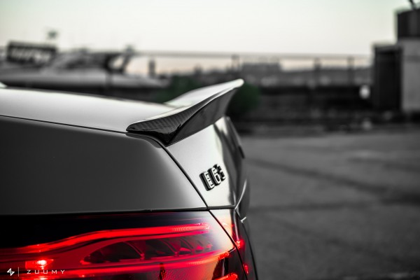 MODE CARBON MERCEDES E63 AMG BOOT LID SPOILER