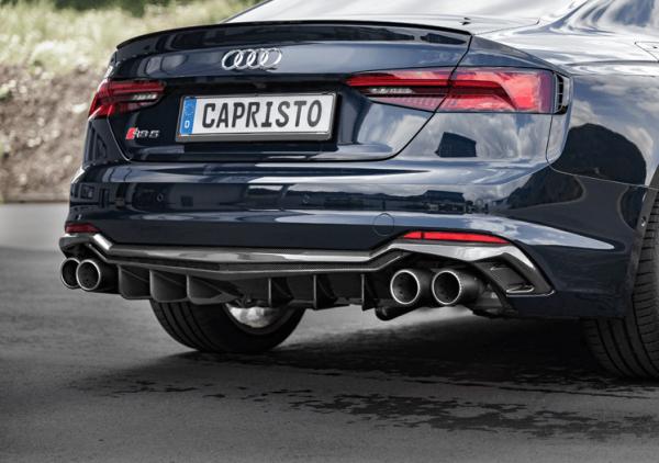 CAPRISTO CARBON DIFFUSOR AUDI RS5 F5