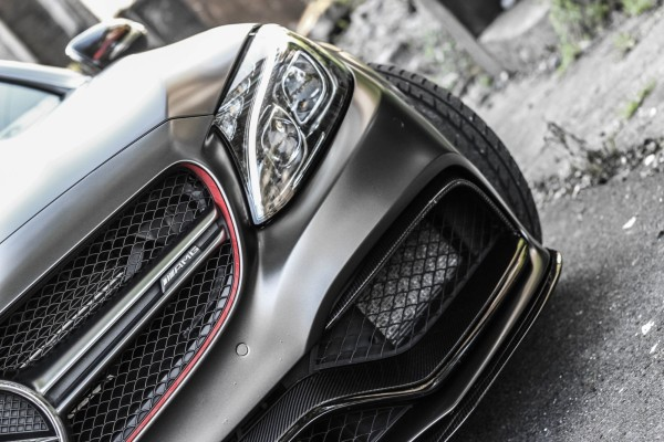 MODE CARBON MERCEDES C63 AMG EDITION 1 FRONT SPLITTER