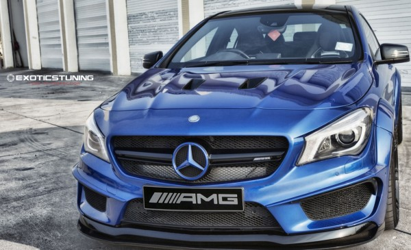 MTC Design CLA AMG Bodykit Carbon