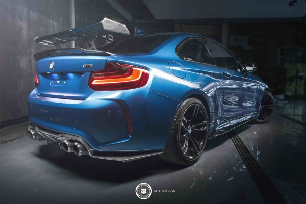 MTC Design BMW M2 Carbon Heckflügel
