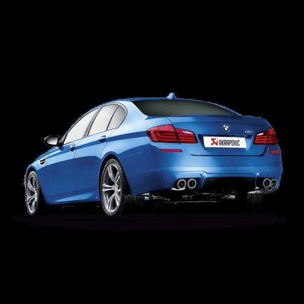 AKRAPOVIC EVOLUTION LINE TITAN AUSPUFF BMW M5 F10