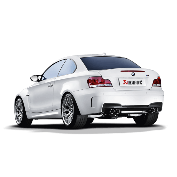AKRAPOVIC EVOLUTION LINE TITAN AUSPUFF BMW 1M COUPE E82