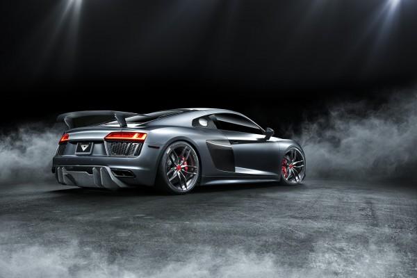 Audi R8 Heckflügel Vorsteiner Carbon VRS Aero
