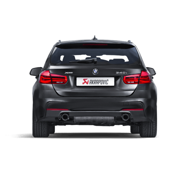 AKRAPOVIC EVOLUTION LINE BMW 340i AUSPUFF