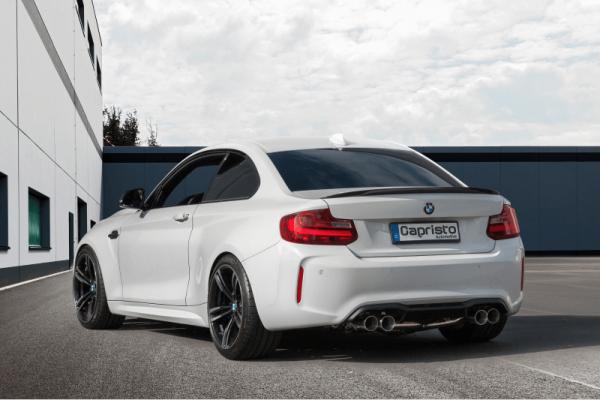 CAPRISTO ABGASANLAGE FÜR BMW M2