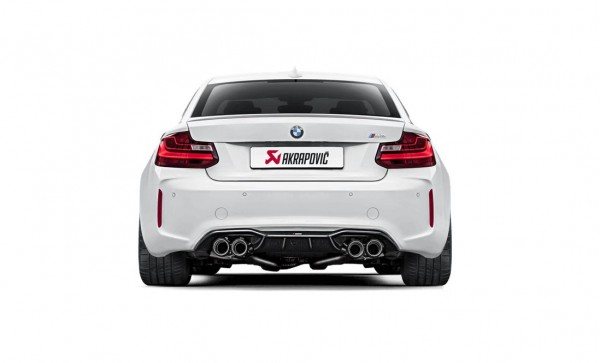 AKRAPOVIC EVOLUTION LINE TITAN AUSPUFF BMW M2