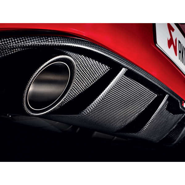 AKRAPOVIC SLIP ON LINE TITAN VW GOLF VII GTI