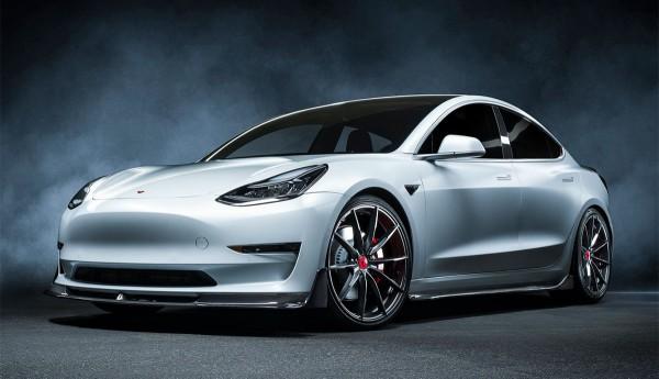 Tesla Model 3 Carbon Bodykit