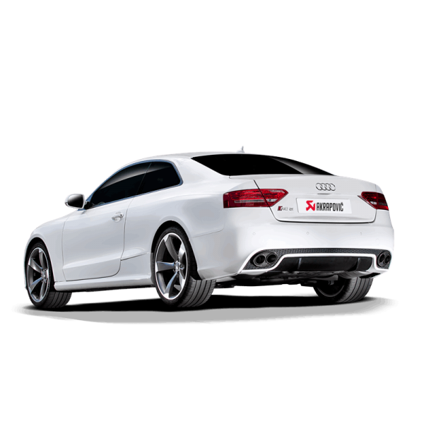 AKRAPOVIC EVOLUTION LINE TITAN AUSPUFF AUDI RS5