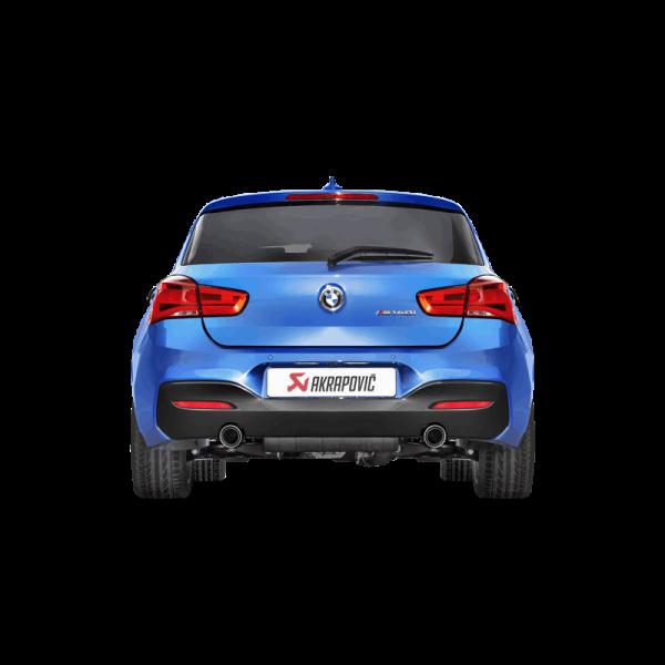 AKRAPOVIC EVOLUTION LINE BMW M140i ABGASANLAGE