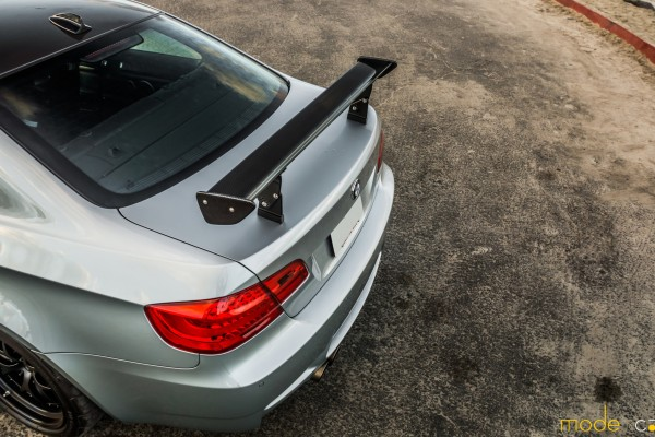 MODE CARBON BMW E92 M3 GTS MOTORSPORT WING