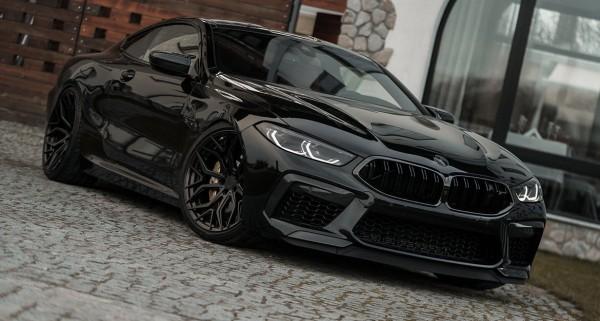 BMW M8 KW Variante 4 Gewindefahrwerk