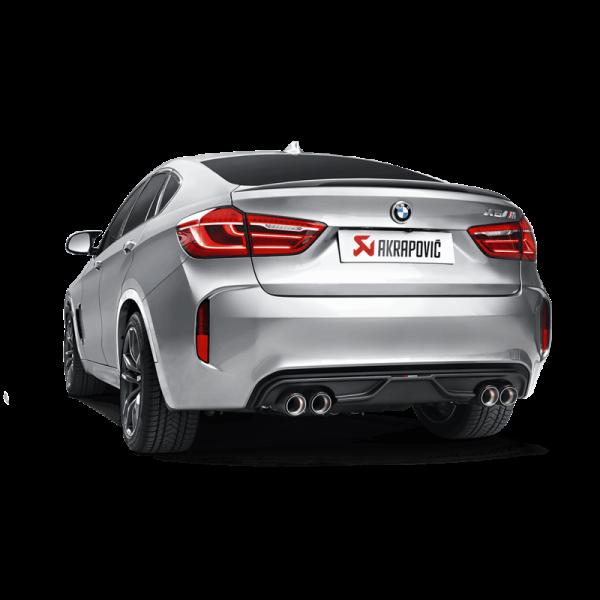 BMW X5M F85 AKRAPOVIC EVOLUTION AUSPUFF