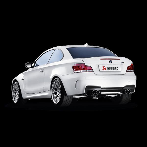 AKRAPOVIC SLIP-ON LINE TITAN ABGASANLAGE BMW 1ER M COUPE E82