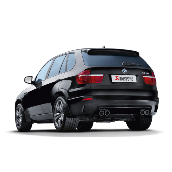 AKRAPOVIC EVOLUTION LINE TITAN BMW X5M E70