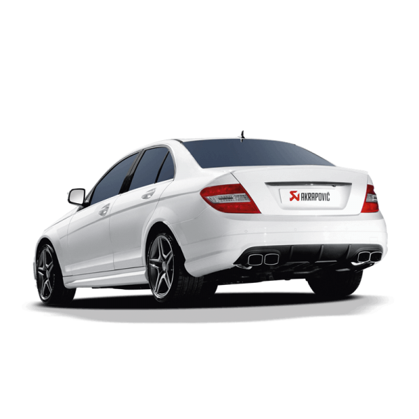AKRAPOVIC EVOLUTION LINE TITAN MERCEDES BENZ C63 AMG W204